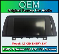 "BMW 3 Series Satellite Navigation display, BMW F30 F31 F34, L7 CID ENTRY 6.5"""