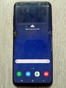 Samsung Galaxy S8+ SM-G955F - 64 Go - Noir - écran cassé mais fonctionnel
