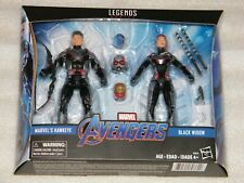 Rare Sealed MIB Marvel Legends AVENGERS Black Widow & Hawkeye 2 Pack Target Excl