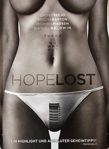 HOPE LOST Limited 2 Disc Blu Ray & DVD MEDIABOOK, Limited to 111 WORLDWIDE, New