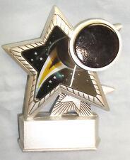 silver star Hockey resin trophy award hologram R7056-15 Nsps