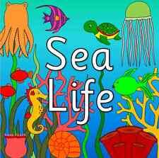 SEA LIFE / UNDER THE SEA topic resource pack on CD - EYFS, KS1, summer, seaside