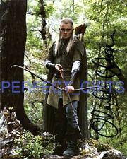 ORLANDO BLOOM LORD OF THE RINGS LEGOLAS SIGNED 10X8 PP REPRO PHOTO