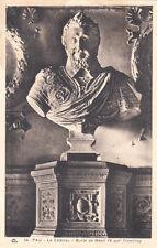 PAU 34 le château buste de Henri IV par Tremblay écrite