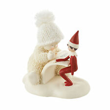 Dept 56 Snowbabies Guest Collection Elf on the Shelf Makes a List 4051841 NEW
