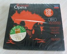 RARE COFFRET 2 CD ALBUM DIGIPACK OPERA ROUGE ORFEO MONTEVERDI NEUF