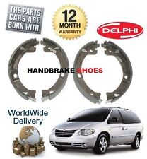 FOR CHRYSLER GRAND VOYAGER 2.4 2.5D 2.8D 3.3 2000-> NEW HAND BRAKE SHOES SET