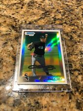 Chris Sale 2010 Topps Bowman Chrome Refractor Rookie Card W/ Mag Red Sox