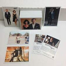 "JAMES BOND ""QUANTUM OF SOLACE"" Complete Card Set (aka ARCHIVES 2015 EDITION)"