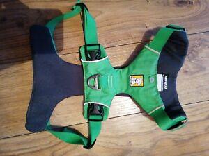 Green Medium Used Ruff Wear Front Range Dog Harness