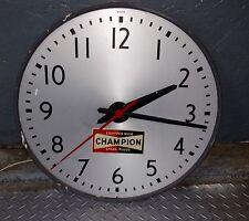 Champion Spark Plugs 1970's Dealer Display Wall Clock