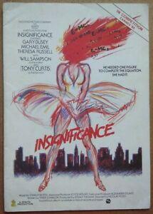 1985 INSIGNIFICANCE Press Book