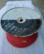 Paige Electric 14 AWG PE Solid Low Voltage Golf/Irrigation Wire/RED/100ft