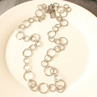 """36"""" New Chicos Single Strand Chain Necklace Long Gift Fashion Lady Party Jewelry"""