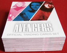 THE WOMEN OF THE AVENGERS Complete 54 Card Base Set - Unstoppable