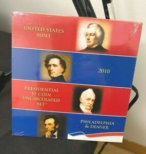 2010 Presidential $1 (8 Coin) Uncirculated Set w/Plastic Best Price on Ebay CHN