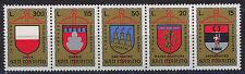 SAN MARINO 1974 MNH SC.843/847 Coats of Arms