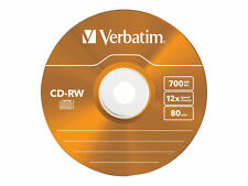 Verbatim Cd-rw 12x Speed JEWEL Case Colour