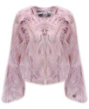 Stunning Urbancode Chevelle Pink Faux Fur Chubby Jacket - BNWT