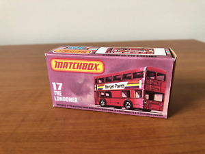 "MATCHBOX 17  London Bus ""Laker Skytrain"""