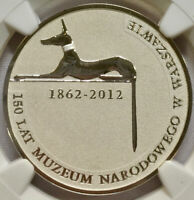 2012 Poland 10zl Warsaw National Museum - Absolutely Gorgeous Coin! - NGC MS69