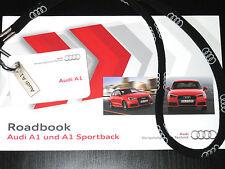 AUDI a 1+ SPORT BACK cartella stampa/PRESS Launch Media info KIT + USB-Stick + roadbook s1