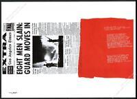 1968 Sister Corita Kent My People Watts Riots theme vintage poster print