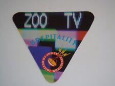 U2 UNUSED 1992 CONCERT PASS ZOO TV Bono The Edge U 2 Adam Clayton Larry Mullen