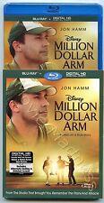 Million Dollar Arm Blu-ray Disc, 2014, Incl. Digital Copy NEW SEALED W/Slipcover