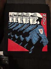 MDC Hardcore Punk Band Back Patch Canvas Millions of Dead Cops 80s Austin TX