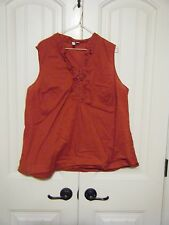 St. John's Bay  Womens 1X red tank cami XL -used for Maternity -Great condition!