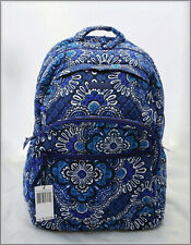 NEW! VERA BRADLEY 'ESSENTIAL LARGE BACKPACK' 💙BLUE TAPESTRY💙NWT $149