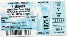 TICKET ENTRADA AL CONCIERTO DE NIGTHWISH
