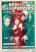 RED HOT CHILI PEPPERS / 311 SAN DIEGO 2004 CONCERT TOUR POSTER - RHCP Group Shot