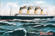 Turkmenistan RMS Titanic Commemorative Stamp Block