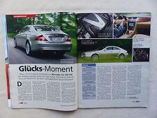 Mercedes CLS 420 CDI - Fahrbericht - Auto Motor Sport Heft 13/2005