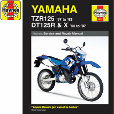 [1655] Yamaha TZR125 1987-93 DT125R/X 1988-2007 Haynes Workshop Manual