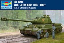 TRUMPETER #05589 1/35 WWII Russian JS-2M Heavy Tank
