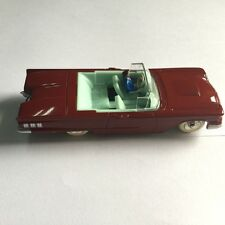 red 1/43 DeAgostini dinky toys 555 cabriolet ford thunderbird Avec conducteur