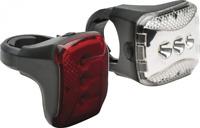 Bell Radian Locking Bicycle Light Set