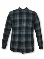 Edwin Labour over-shirt jacket in navy/grey check rrp £149.00