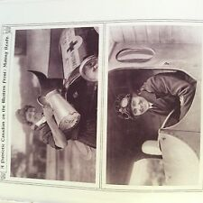M1e ephemera ww1 1916 picture canadian red cross v a d women driver