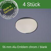 56 MM Alluminio Emblema Cromato/Vuoto Aluett/BORBET Coprimozzo