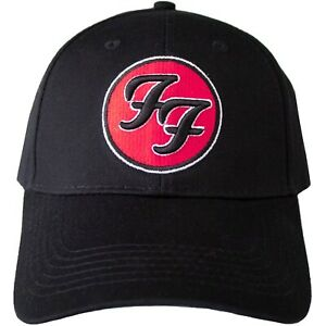 Foo Fighters - FF Round Embroidered Logo Official Licensed Baseball Cap