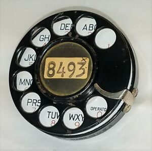 WESTERN ELECTRIC #2 AB DIAL...WITH LETTERS/NUMBERS FACE
