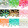 2000Pc AB Crystal Iridescent Nail Art Rhinestones Flat Back Glitter Gems U4W0