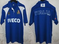 RARE MAGLIA SHIRT JERSEY MAILLOT CAMISA RUGBY ITALIA ITALY ITALIE CUP SIZE S