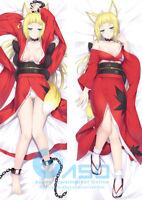 Majo no Tabitabi Elaina Dakimakura Hugging Body Anime Girl Pillow Case Cover