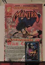 MANTRA #1 1995 Malibu Ultraverse Still Sealed w Trading Card
