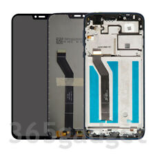 LCD Screen Touch Digitizer Assembly For Cricket Wireless Motorola Moto G7 Supra